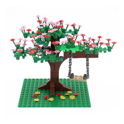 Персиковое дерево с качелями - набор