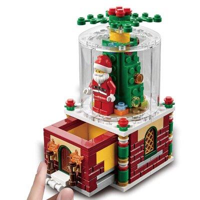 Набор Рождественский стеклянный шар с Санта-Клаусом