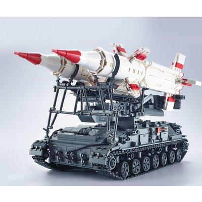 Набор Бронированный танк с ракетами