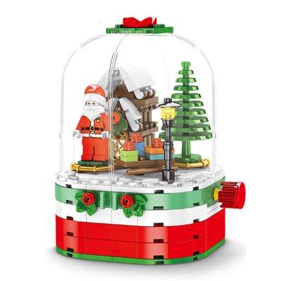 Рождественский Механический Шар + Подсветка