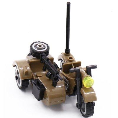 Военный Мотоцикл с Пулеметом