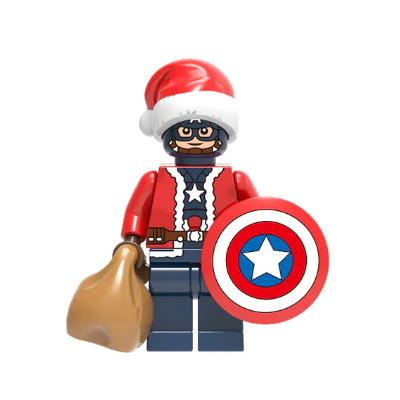 Капитан Америка - Санта Клаус