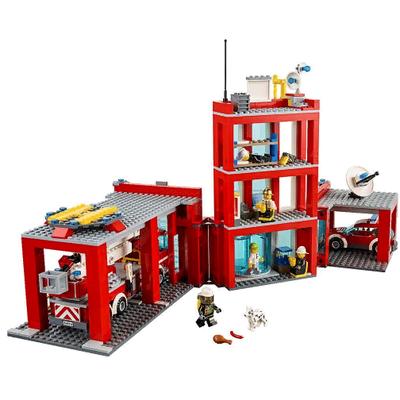 Набор Пожарная станция