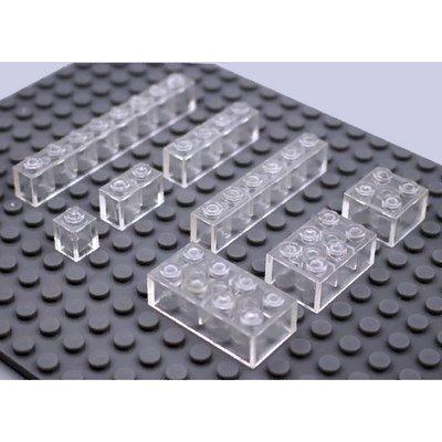Прозрачные брики Набор - упаковка 80 шт.
