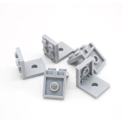 Плитка кронштейн 2x2 - 2x2 с 2 отверстиями - упаковка 30 шт.