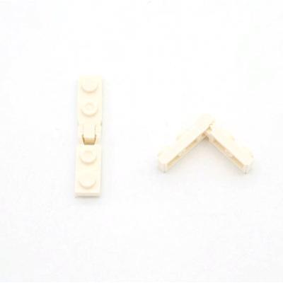 Плитка петля 1x2 замок с 1 пальцем на конце + Плитка петля 1x2 блокировки с 2 пальцами на конце