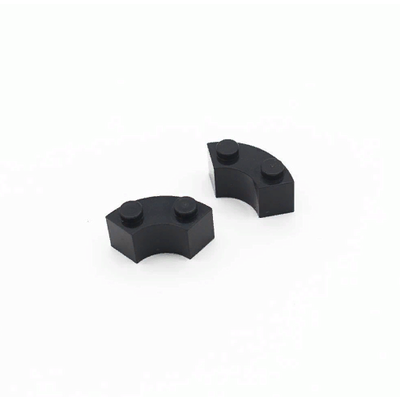 Модифицированный брик круглый угол 2x2 - упаковка 30 шт.